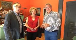 A nova presidenta de AEVA comeza a reunirse cos alcaldes valdeorreses