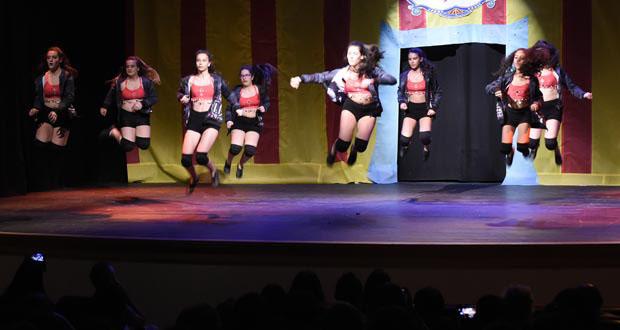 Festival de danza no Barco