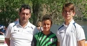 O Fluvial Barco e o Allariz na Copa España infantil en Villalpando