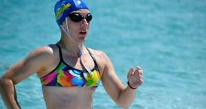 Dúas medallas para Andrea Bello (Club Salvour) no autonómico en augas abertas júnior