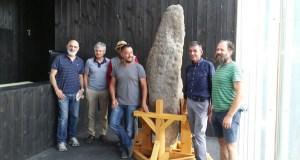 """O Menhir """"Marco da Pedra Longa"""" xa pode verse en Sober"""