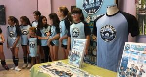 O Club Voleibol Ourense abre unha escola de iniciación para rapaces de 7 a 11 anos