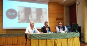 """Bernar Freiría presenta a súa novela """"Triple juego en Cuba"""" en Verín"""