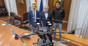 A provincia imparte o primeiro curso de piloto de dron para emerxencias