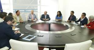 Reunión do conselleiro de Economía cos Clústers da Lousa e do Granito