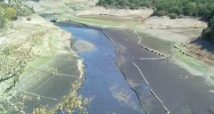 Novas imaxes dos efectos da seca no oriente ourensán
