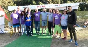 Medio cento de nadadores disputan a III Travesía de Valdeorras