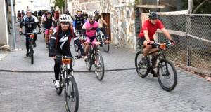 Máis dun cento de participantes na ruta BTT e andaina de Larouco