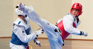 Representación ourensá no I Torneo Eixo Atlántico de Taekwondo