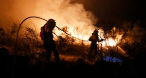 A provincia segue ardendo