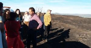 O BNG pide axudas directas polos efectos da seca e os lumes no oriente ourensán