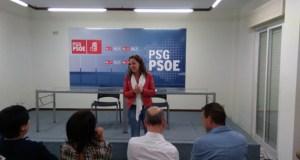 """Noela Blanco (PSOE) pídelle aos precandidatos """"honestidade e transparencia"""" na recollida de avais"""