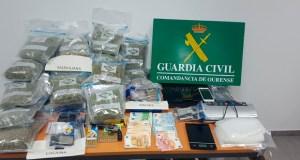 Desarticulados tres puntos de venda de droga na provincia con seis detidos