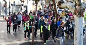 A Andaina de Valdeorras contra a violencia de xénero, en fotos