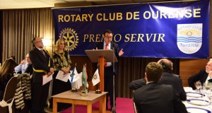 """Nortempo recibe o premio """"Servir 2017"""" do Rotary Club de Ourense"""