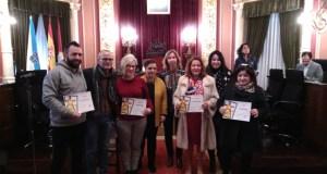O comercio ourensán recibe os premios do Concurso de Escaparates de Nadal