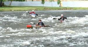 O Fluvial Barco, subcampión da liga galega de augas bravas