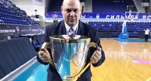 O valdeorrés Lucas Mondelo conquista co Dynamo de Kursk a Copa Rusia de básket feminino