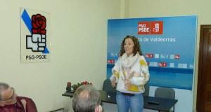 Noela Blanco reúnese coa militancia valdeorresa a tres días das primarias socialistas
