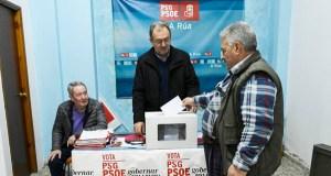 Os resultados da segunda volta das primarias socialistas no oriente ourensán