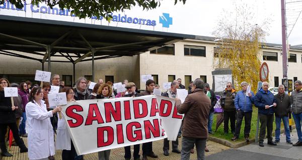 A Plataforma Sanitaria de Valdeorras intensificará as mobilizacións contra a reforma da Lei de Saúde