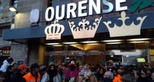 (Vídeo) O Sistema Solar e a luz acompañaron aos Reis Magos en Ourense