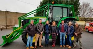 Sarreaus, Sandiás e Trasmiras (A Limia) mercan un tractor para a prevención de lumes