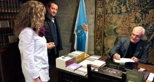 """O proxecto cultural """"As letras de Florencio"""", presentado na Real Academia Galega (A Coruña)"""