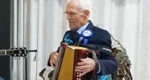 Alfonso Llano celebra o seu centenario en Sober