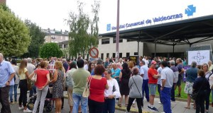 Gran concentración en defensa da área sanitaria no Barco o 24 de xaneiro
