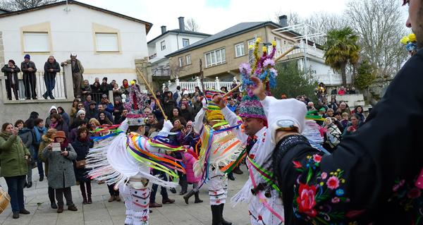 A IV Mascarada Ibérica enche de rituais de inverno Vilariño