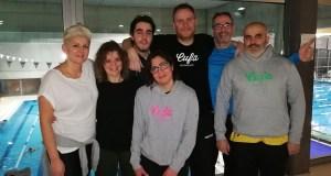 Dez medallas e novo récord para o Adas Natación no Campionato galego máster de inverno