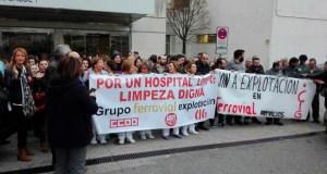 Os traballadores de Ferrovial chegan a un acordo e desconvocan a folga de limpeza no CHUO