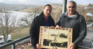 O coordinador do CT de Galicia de EMCOM España visita a comarca trivesa