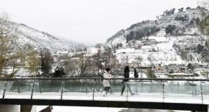 O Barco, entre os concellos con máis incidencias pola neve