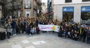 Concentración en Ourense polo Día da Endometriose