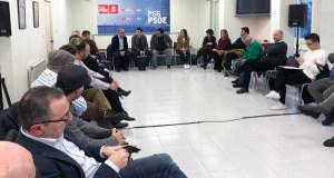 """Caballero avanza un """"traballo intenso"""" para acadar """"un cambio de ciclo"""" e devolver un alcalde socialista a Ourense"""