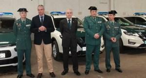 O parque móbil da Comandancia da Garda Civil de Ourense renóvase con 8 novos vehículos