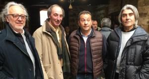 Lolo Zapico ponlle acento á beleza do Camiño de Inverno nunha exposición en Valdeorras