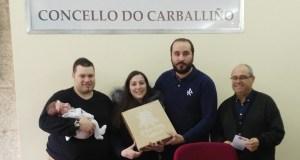 """O Carballiño adhírese ao programa """"Apego"""" para promover o uso do galego no ámbito familiar"""