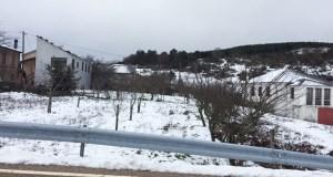 Alerta amarela por neve nas montañas ourensás
