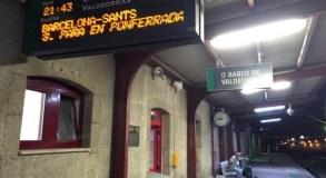 Reunión de alto nivel para clarificar as posicións sobre o corredor ferroviario do Atlántico, no Barco