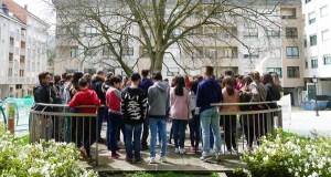 Andaina e Romaría Literaria no IES Lauro do Barco polo Día do Libro
