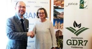 O GDR Valdeorras asina un convenio financeiro con Abanca