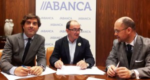 O GDR Sil-Bibei-Navea asina un convenio con Abanca