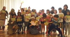 Os nenos triveses celebran o Día do Libro axudando a Sherlock Holmes e a Watson nunha misión especial