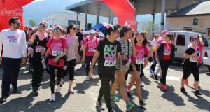 A Rúa tínguese de rosa contra o cancro de mama