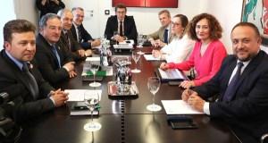 O Eixo Atlántico e a Xunta únense para defender a inclusión de Galicia no Corredor Atlántico de transporte de mercadorías