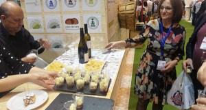 Maridaxes de Pataca de Galicia con viños de Valdeorras e da Ribeira Sacra, na feira Gourmets en Madrid