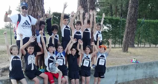 Éxitos triveses no campionato provincial de atletismo Xogade